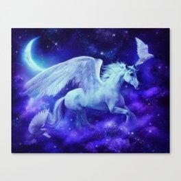 pegasus in the stars Canvas Print