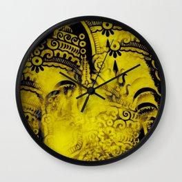 Kaleidoscope Psychedelic Ganesh Pattern Wall Clock