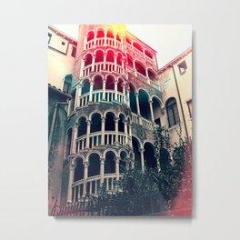 Scala Contarini del Bovolo venice. Metal Print