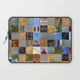 Pieces of Pictures Collage Laptop Sleeve