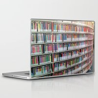 bookworm Laptop & iPad Skins featuring Bookworm by Anabella Nolasco