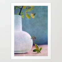 relax Art Prints featuring RELAX :-) by Claudia Drossert