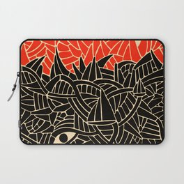 - fall : a red storm and the sea - Laptop Sleeve