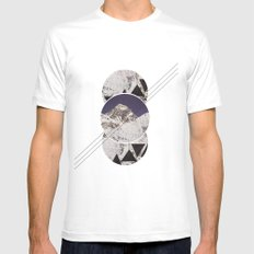 the mountain Mens Fitted Tee White SMALL