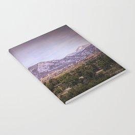 Mountains overlooking Colorado Springs, Colorado Notebook