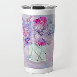 Vase of Wildflowers Travel Mug