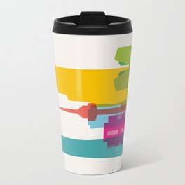Shapes of Seoul accurate to scale Travel Mug