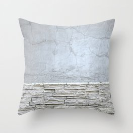 Stone pattern Throw Pillow
