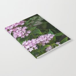 Floral Print 074 Notebook