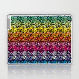 Escher Fish Rainbow Pattern Laptop & iPad Skin