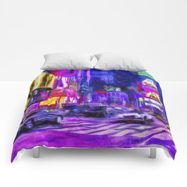 Times Square Van Gogh Comforters
