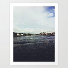 Limerick City, Ireland Art Print