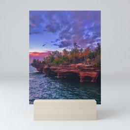 Apostle Islands Sunset Mini Art Print