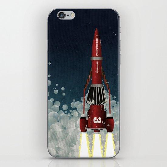 Thunderbird 3 iPhone & iPod Skin