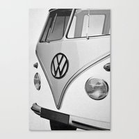 vw Canvas Prints featuring VW by Mawwall