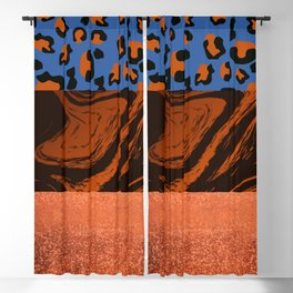 Urban Jungle - Pattern Mix Blackout Curtain
