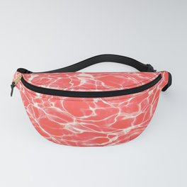 Coral water Fanny Pack
