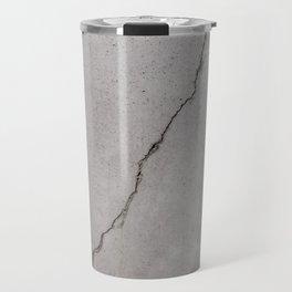 cracked concrete texture - cement stone Travel Mug