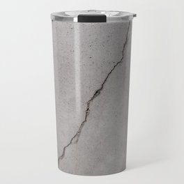 cracked concrete texture - cement stone Travel Mug