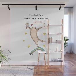 Honest Blob - Weigh a Pie Wall Mural