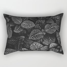 The Plant (Black and White) Rectangular Pillow