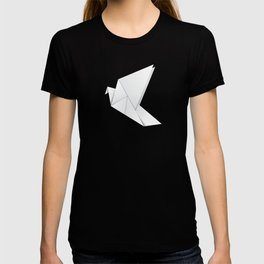 Origami pigeon T-shirt
