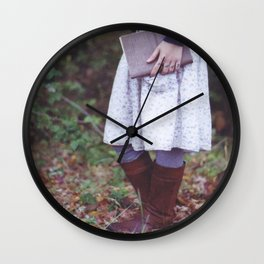 Bookish 03 Wall Clock