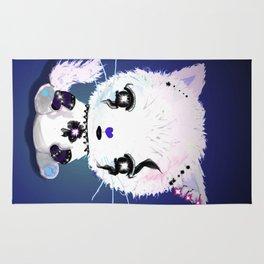 Punky Persian - Dark Blue Rug