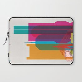 Shapes of Boston. Accurate to scale Laptop Sleeve
