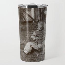 Old School Father - Vintage Photography Travel Mug