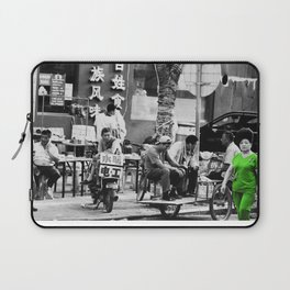 Walk on by Laptop Sleeve