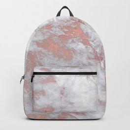 Marble Rose Gold - Lost Backpack