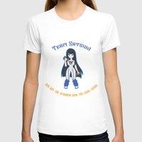 workout T-shirts featuring Satsuki Workout by LadyInverse
