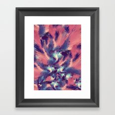 Colorful Energy Framed Art Print