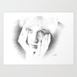 Rhys Ifans Art Print