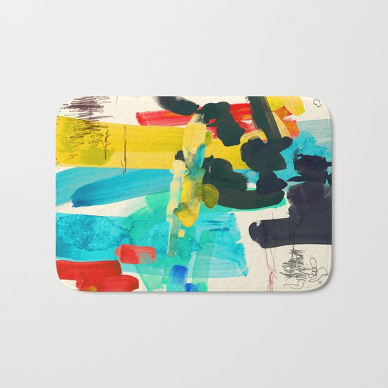 Lonely Water Bath Mat