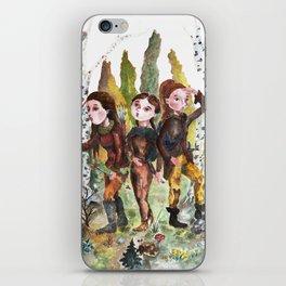 Sarmatian sisters iPhone Skin