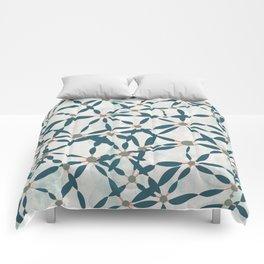 Conversations in Mint Comforters