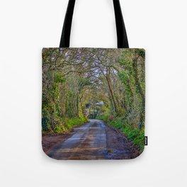 Mylor Walk - Turn Left for Restronguet Weir Tote Bag