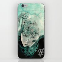 kpop iPhone & iPod Skins featuring B.A.P's ZELO by Worldandco