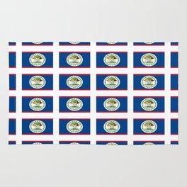 flag of belize 2 -Belice, Belizean,Belize City,beliceno,Belmopan Rug