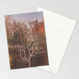 vintage tree Stationery Cards