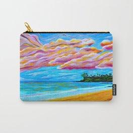 Pāʻia Bay Sunrise Carry-All Pouch