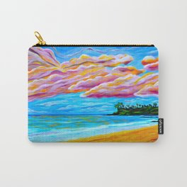 Pāʻia Bay Sunrise Carry-All Pouch