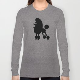 Angry Animals - French Poodle Long Sleeve T-shirt