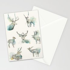 Deer Study Stationery Cards