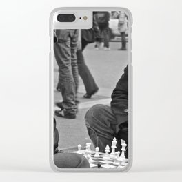 The Showdown (Part 3: NYC) Clear iPhone Case