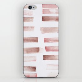 24  | 181101 Watercolour Palette Abstract Art | Lines | Stripes | iPhone Skin
