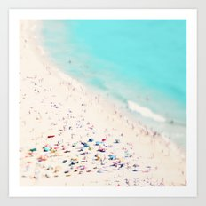 beach love III square Art Print