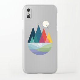 Somewhere Clear iPhone Case